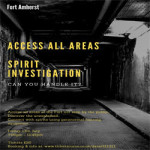 Spirit Investigation at Fort Amherst – Friday 13th July 2018