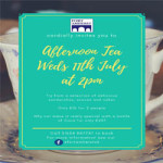 Afternoon Tea at Fort Amherst – Wednesday 11th July 2018