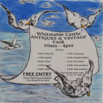 Antiques & Vintage Fair at The Whitstable Castle & Gardens – Sunday 19th August