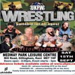 Live wrestling at Medway Park in Gillingham – Saturday 15th September 2018