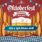 Oktoberfest at Mote Park – 12th & 13th October 2018
