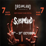 Screamland 2018 // 7 Nights of Fear // 7 Scare Mazes at Dreamland Margate – 13th to 31st October