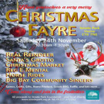 Christmas Fayre 2018 at Strode Park Foundation – Saturday 24th November