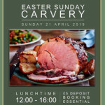 Easter Sunday Carvery at The Appleyard – Sunday 21st April 2019